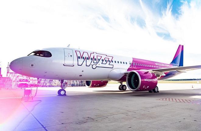 самолет A320neo авиакомпании Wizz