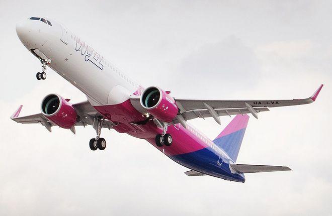 A320neo авиакомпании Wizz Air