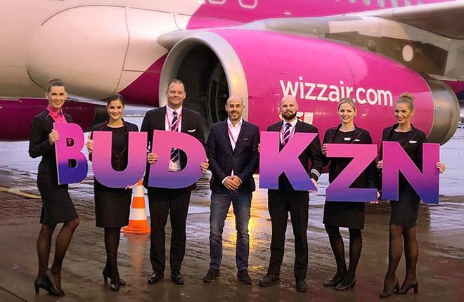 Персонал авиакомпании Wizz Air