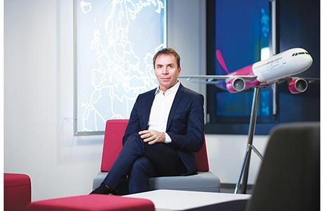 Глава лоукостера Wizz Air Йожеф Варади выступит на форуме «Крылья будущего»
