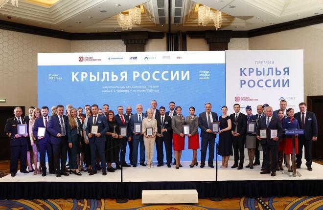 Крылья России 2020 победители национальной премии