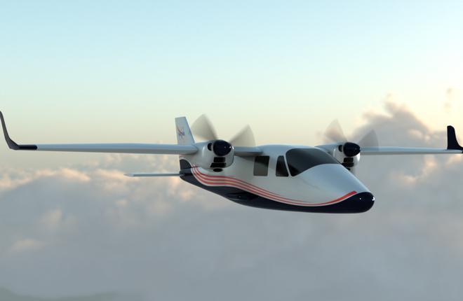 Летный демонстратор X-57 Maxwell