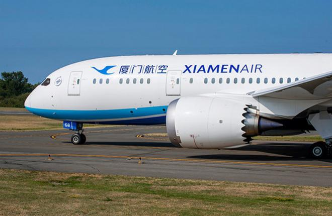 XiamenAir заказала шесть самолетов Boeing 787-9