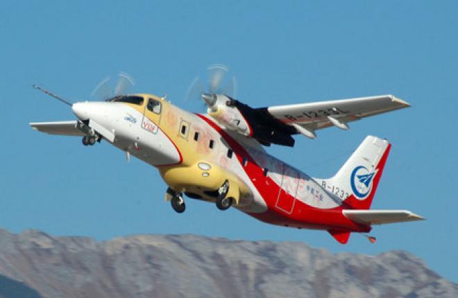 В Китае сертифицировали турбовинтовой самолет Y-12F