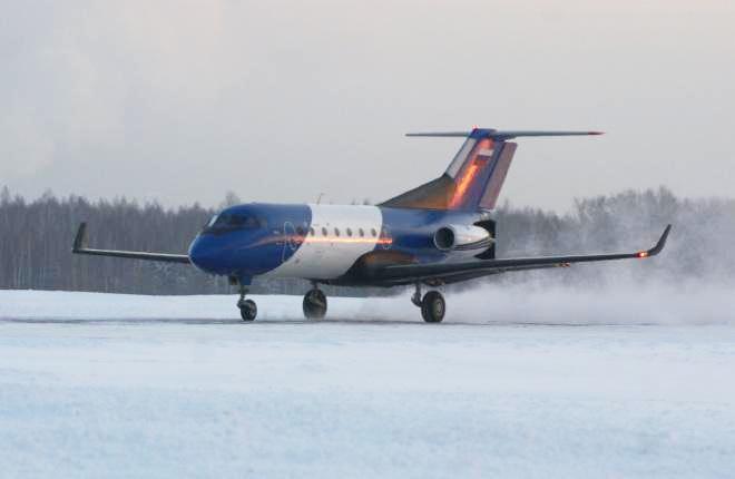 СибНИА испытал в полете Як-40 с композитным крылом