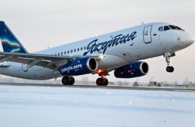 """Авиакомпания """"Якутия"""" получила второй самолет Sukhoi Superjet 100"""