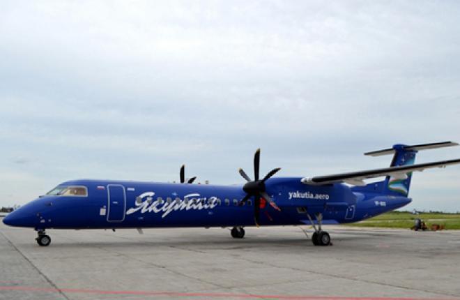 "Авиакомпания ""Якутия"" получит три Bombardier Q300"