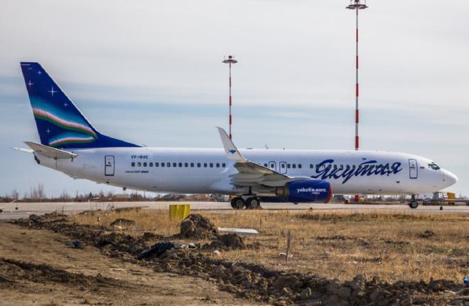"""Авиакомпания """"Якутия"""" получила четвертый Boeing 737-800"""