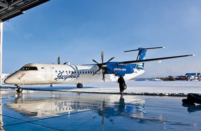 Самолеты Q300/400 — перспективный тип ВС для авиалиний Дальнего Востока // Авиакомпания «Якутия»