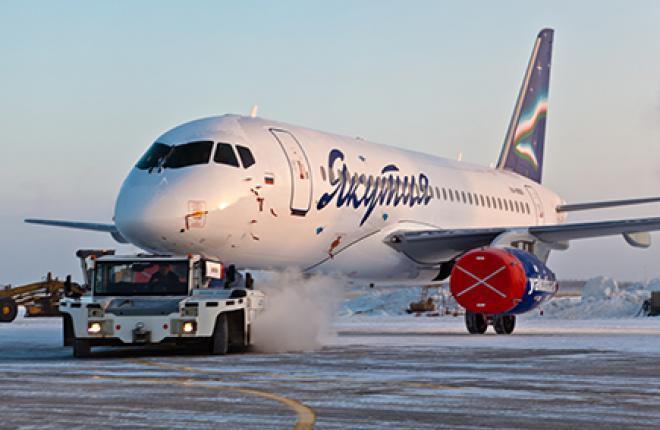 «Якутия» приступила к эксплуатации SSJ 100 в начале 2013 г. // «Якутия»
