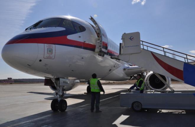 Аэропорт Емельяново допущен к приему Sukhoi Superjet 100 и Bombardier Q400