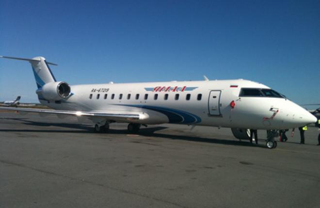 """Ямал"" получит четыре ВС Bombardier CRJ-200LR"