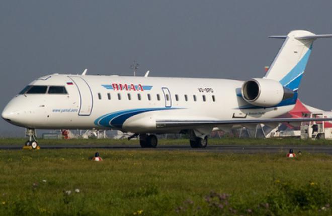 "Авиакомпания ""Ямал"" возьмет в лизинг два Bombardier CRJ 200 и четыре Airbus A321"