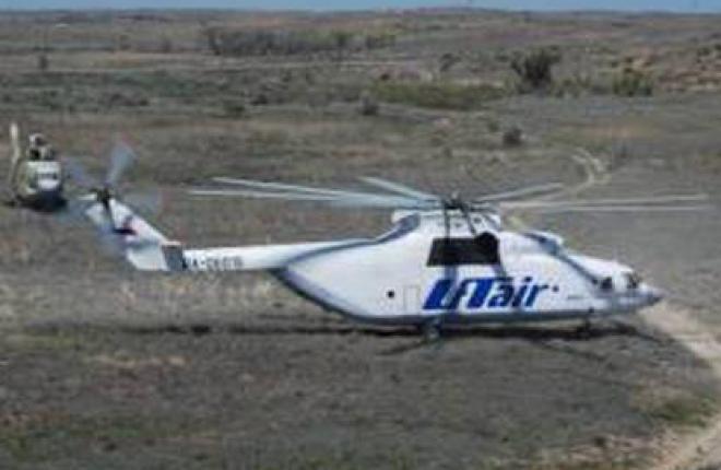 """Авиакомпания """"ЮТэйр"""" сократил объем вертолетных работ"""
