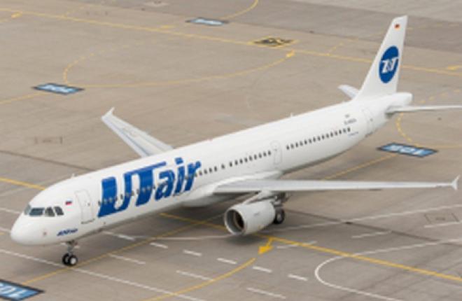 """Авиакомпания """"ЮТэйр"""" получила первый самолет Airbus A321"""