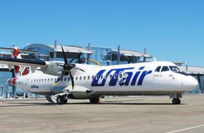 """""""ЮТэйр—Украина"""" начала выполнять внутренние рейсы из терминала А аэропорта Жулян"""