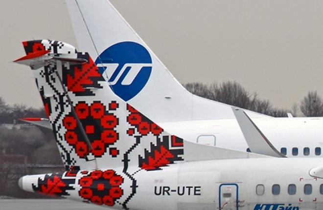 """Авиакомпания """"ЮТэйр-Украина"""" получила самолет Boeing 737-800"""