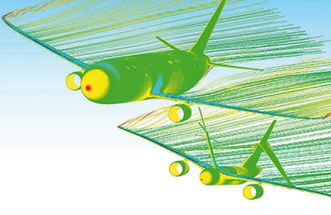 Обращенная дозаправка позволяет пассажирскому лайнеру сохранять высоту и направление полета, пока самолет-заправщик, маневрируя, обеспечивает контакт с заправляемым ВС
