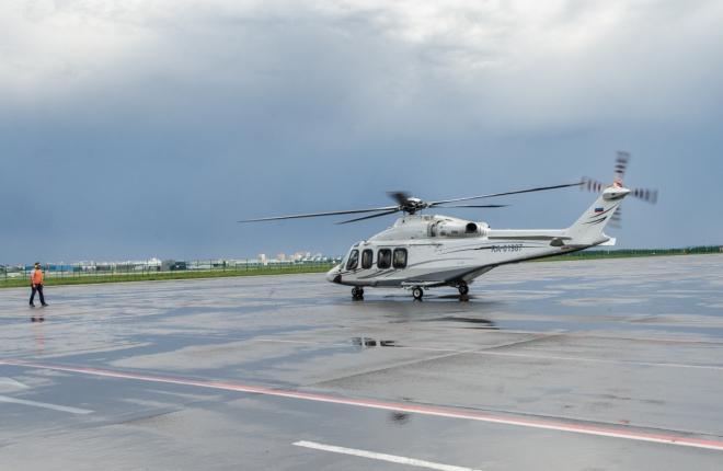 Вертолетная площадка в Жуковском доказала свою востребованность