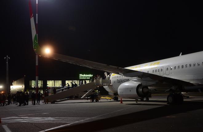 Boeing 737 Somon Air в аэропорту Жуковский