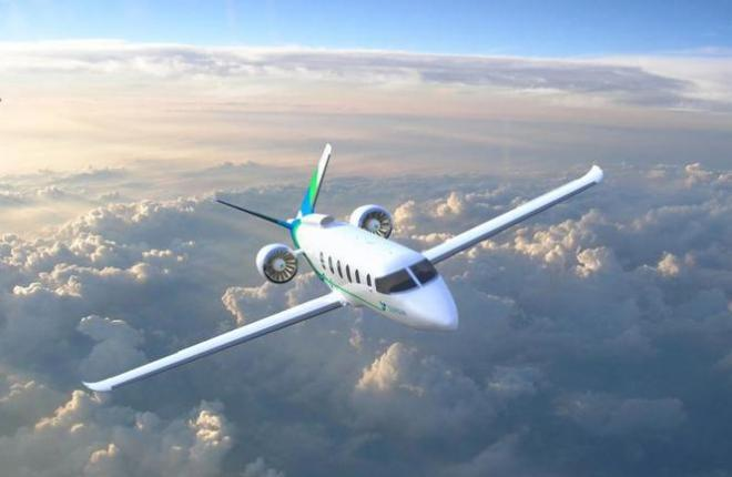 Гибридный электрический самолет Zunum Aero