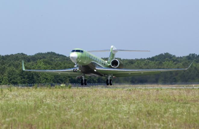 Третий самолет Gulfstream G650 присоединился к программе испытаний
