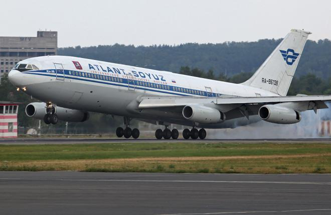 """Самолеты Ил-86 авиакомпании """"Атлант-Союз"""" выставлены на продажу"""