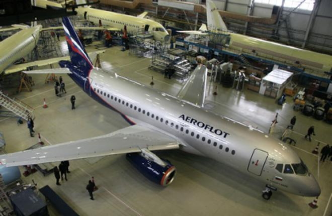 """Первый Sukhoi Superjet 100 RA-89001 для """"Аэрофлота"""" (ГСС)"""