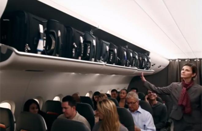 Zodiac Aerospace представила новый салон для самолетов Airbus A320
