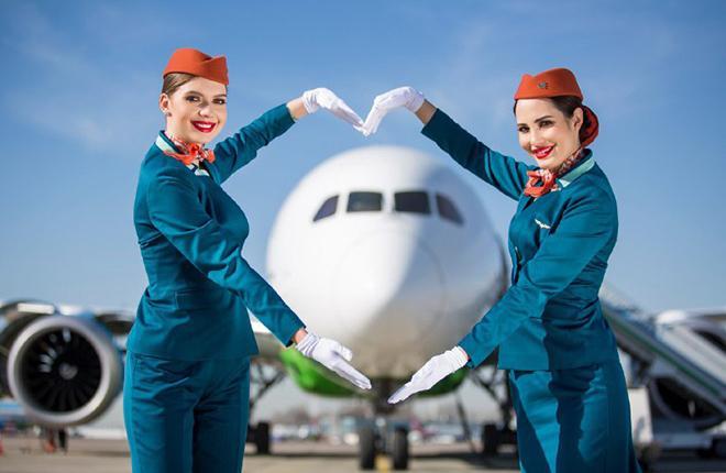 Новая форма авиакомпании Uzbekistan Airways