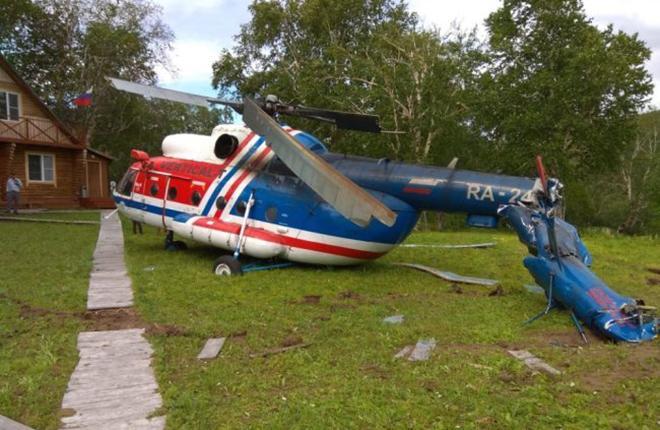 """Крушение вертолета """"Тува Авиа"""""""