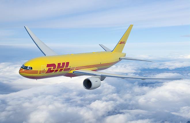 Boeing 777 DHL Express