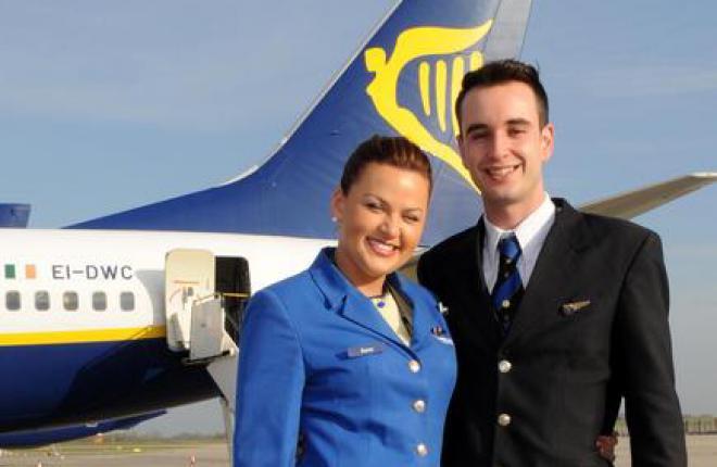 Авиакомпания Ryanair поворачивает лицо к пассажиру