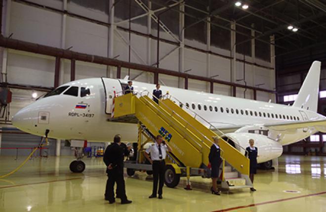 Самолеты SSJ100 будут ремонтировать в Уфе