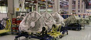 Производство двигателей для самолета SSJ100