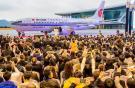 Поставка самолета Boeing 737 MAX-8 для авиакомпании Air China через новый центр в Чжоушане стала одним из главных авиационных  событий недели