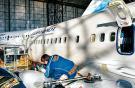 Boeing 737-800 «Аэрофлота» в ангаре «Сибирь Техник»
