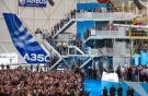 Airbus открыл новую линию по финальной сборке самолетов A350XWB