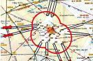 Схема воздушного движения в Московской зоне